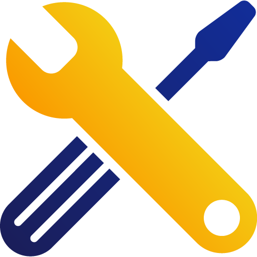 wrench and screwdriver