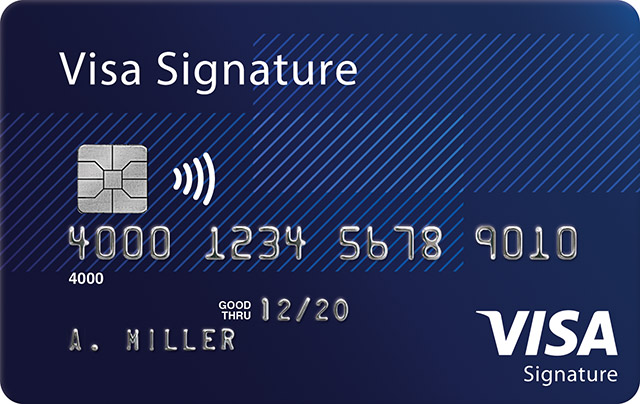 Visa Signature Card
