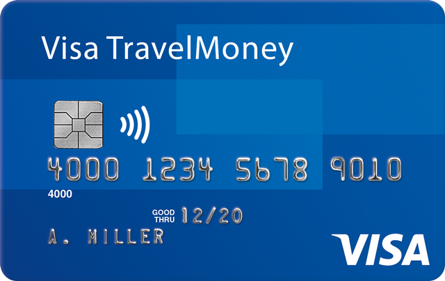 Card Visa TravelMoney